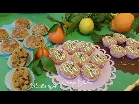 Bimby TM 5 senza glutine Muffin agli agrumi senza burro