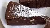 Torta di pane riciclato al cacao