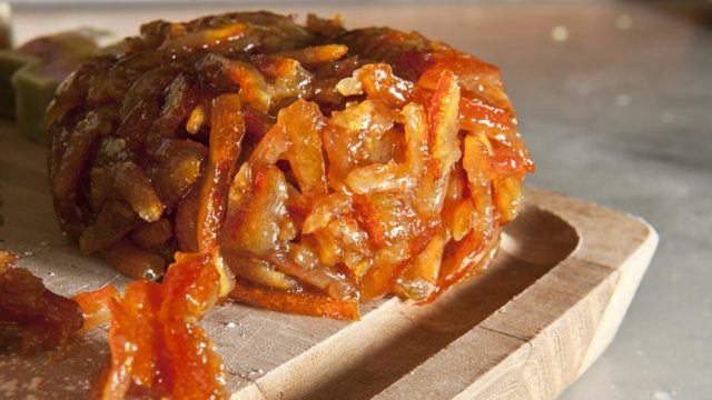 Dolci natalizi siciliani: aranciata o cedrata
