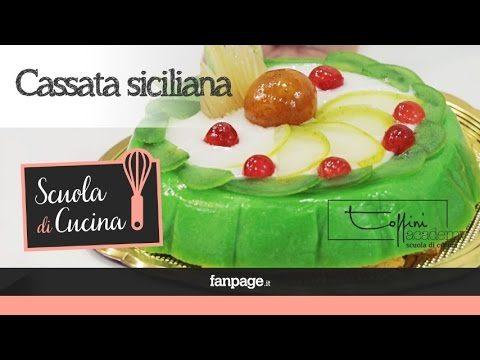 Dolci natalizi siciliani: cassata