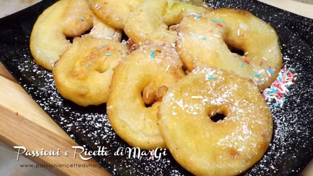 Dolci carnevaleschi: frittelle di mele