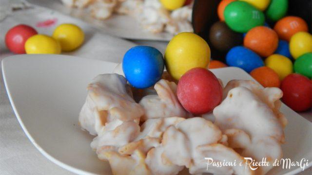 Dolci pasquali facili i nidi con cioccolato