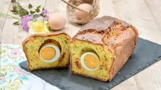 Plumcake salato di Pasqua con Sorpresa