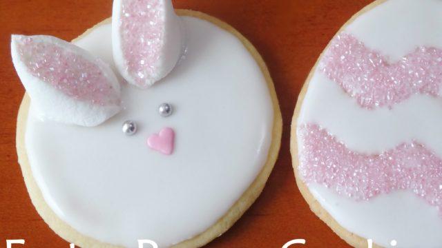 Lavoretti bambini: Coniglietti biscotto pasquali