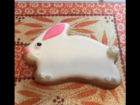Facile biscotto di pasqua a forma di coniglietto