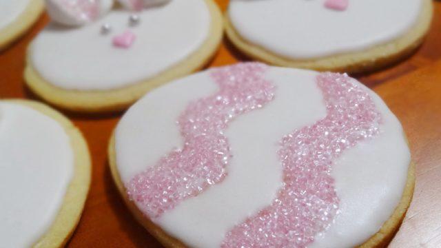 Biscotti pasquali decorati con glitter facilissimi