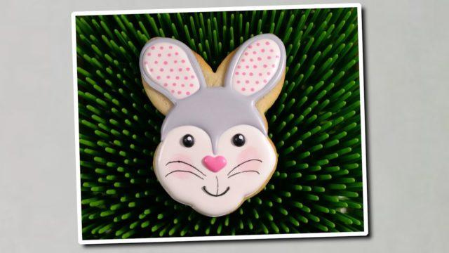 Come decorare un biscotto a forma di coniglietto