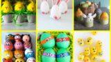 25 idee per decorare le uova con i bambini