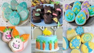 Idee per biscotti di Pasqua e torte decorate