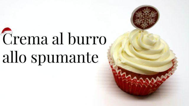 Cupcakes natalizi con spumante: crema